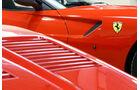 Ferrari GTO, Seitenlinie