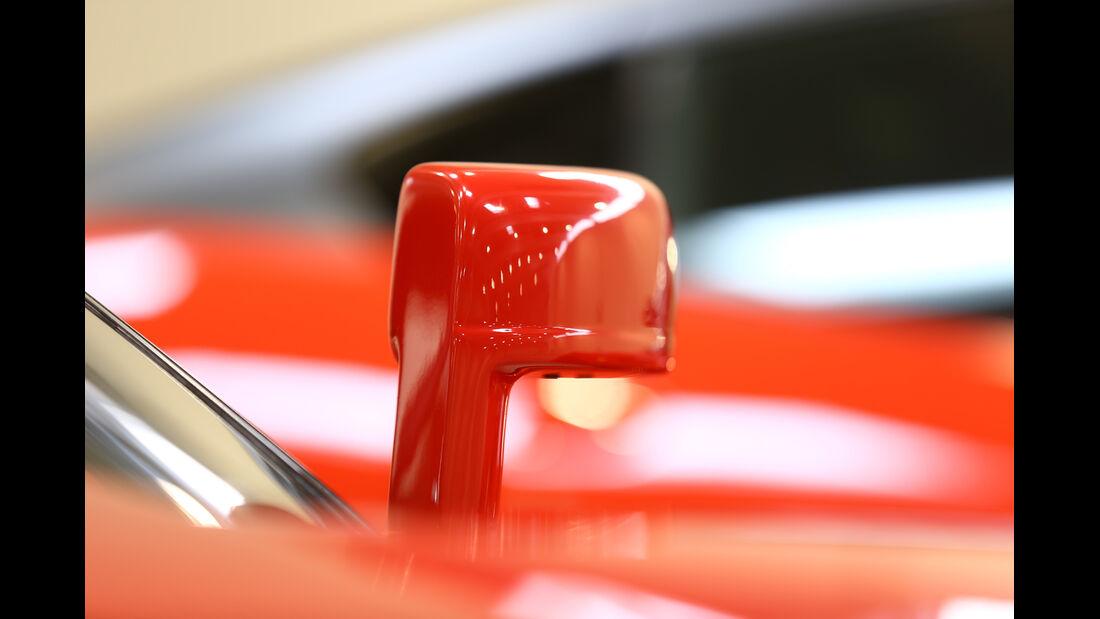 Ferrari GTO, Seitenspiegel