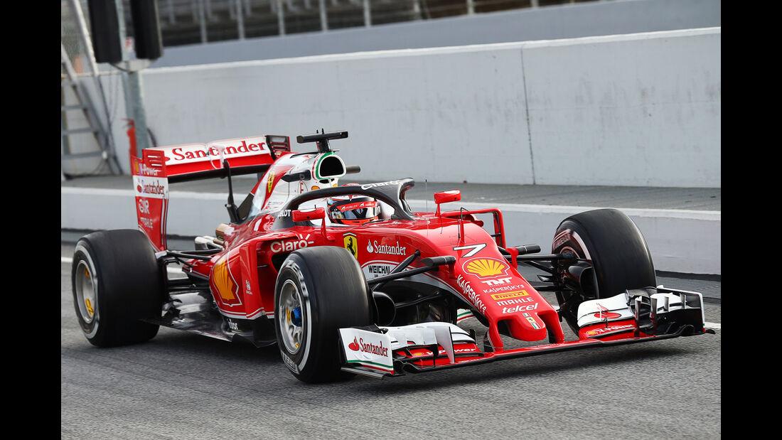 Ferrari - Halo - Heiligenschein - Cockpit-Schutz - Barcelona - 2016