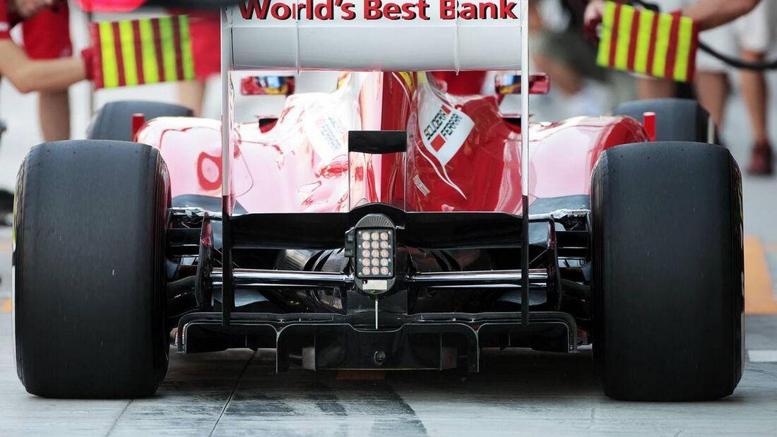 Ferrari Heck - Formel 1 - GP Abu Dhabi - 01. November 2012