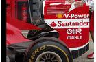 Ferrari - Heckflügel - Formel 1 - GP England - 27. Juni 2013