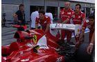 Ferrari Heckflügel - Formel 1 - GP Italien - 7. September 2012