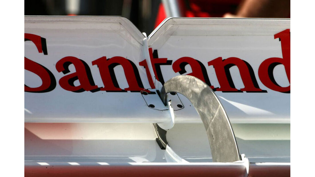 Ferrari Heckflügel GP Monaco 2011