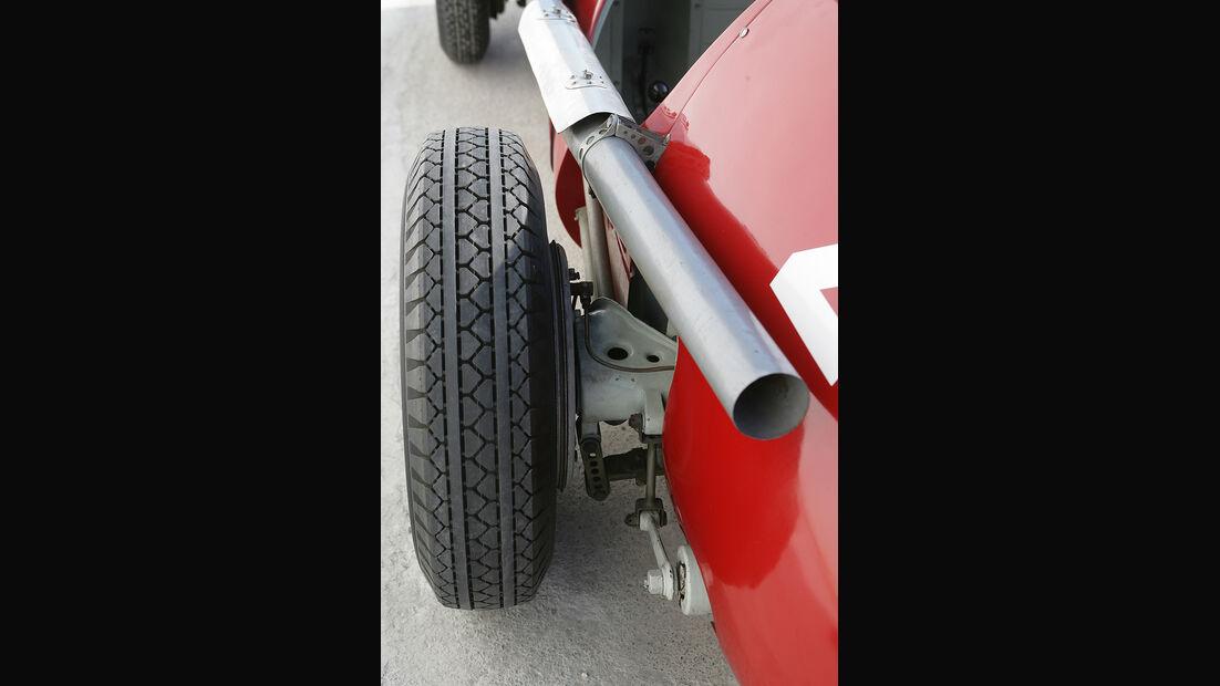 Ferrari Historie Auspuff