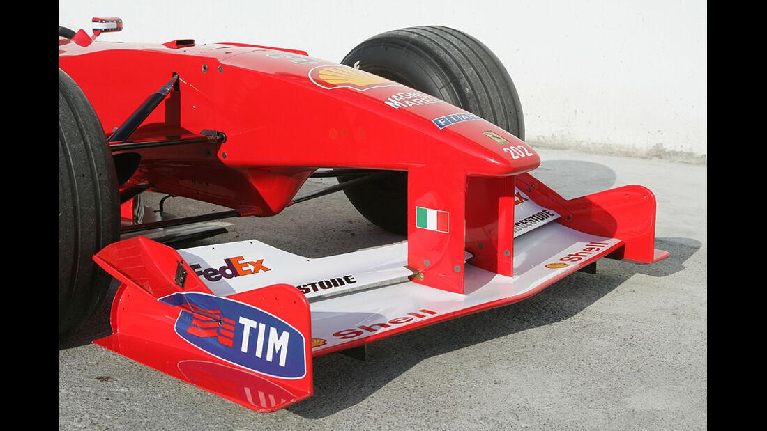 Ferrari Historie Ferrari F1-2000 Nase