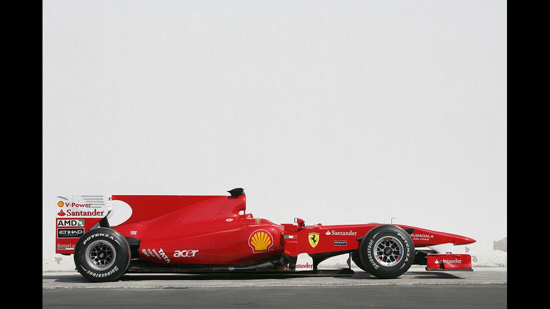 Ferrari Historie Ferrari F10
