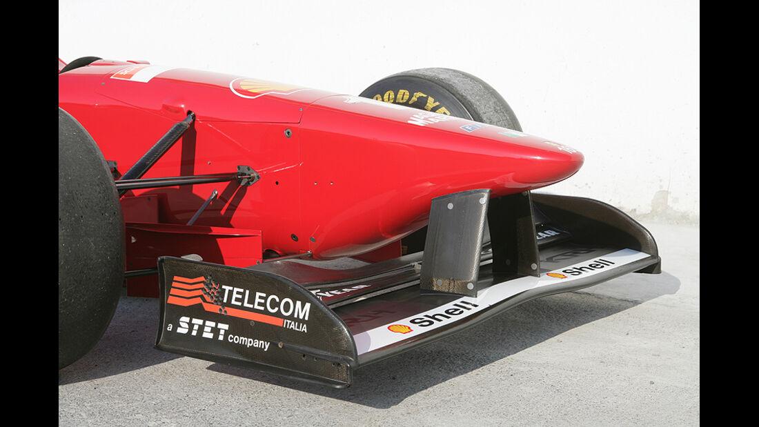 Ferrari Historie Ferrari F310 Nase