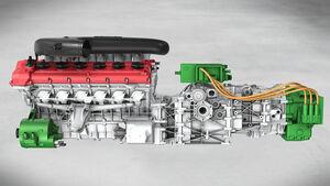 Ferrari Hybridantrieb Hy-Kers