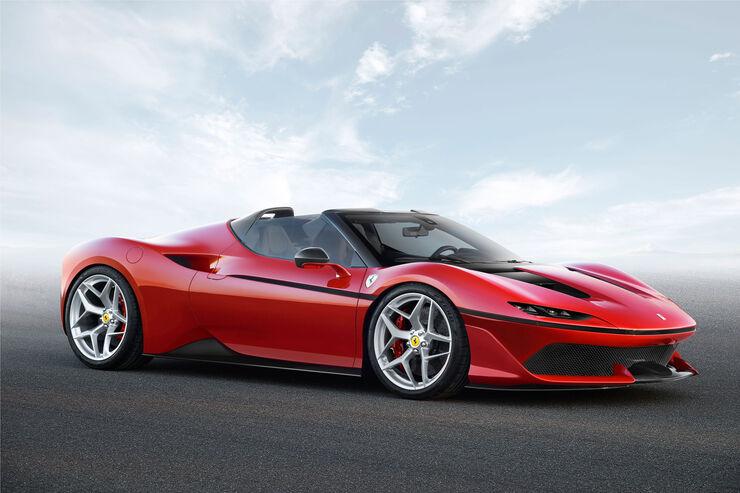 Ferrari J50 - Roadster - Mittelmotor - One-Off