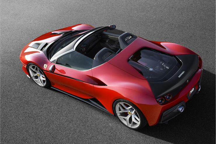 Ferrari J50 10 Roadster Auf Basis Des Ferrari 488 Spider Auto Motor Und Sport
