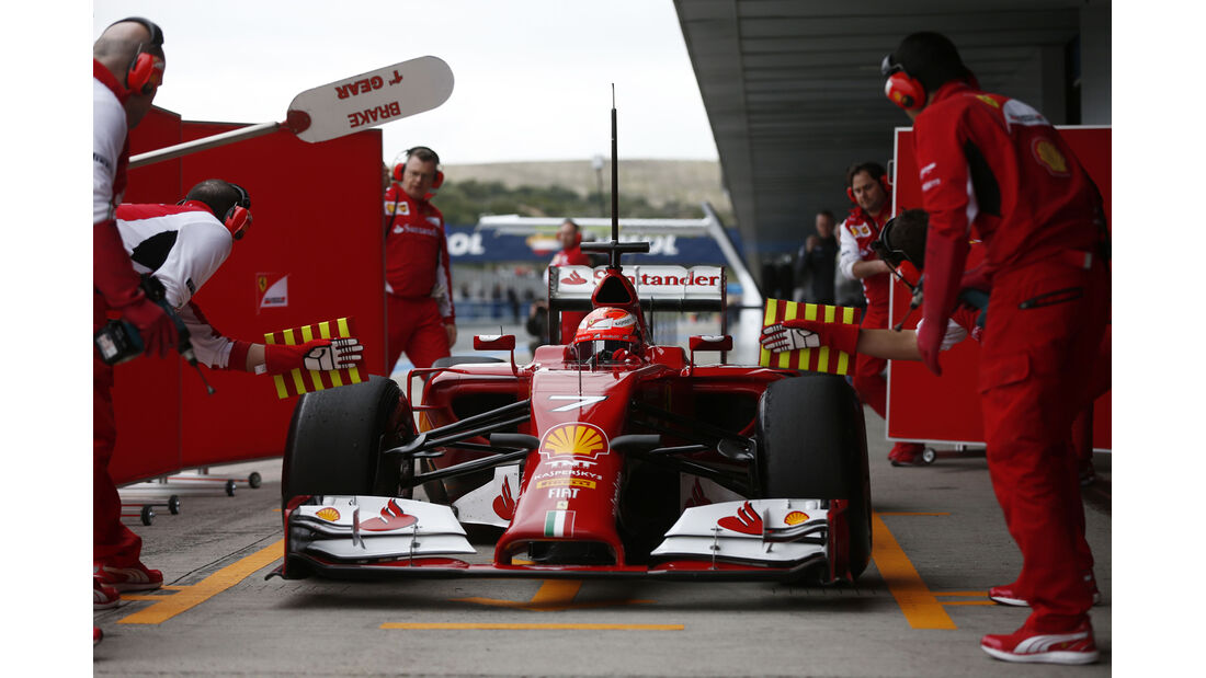Ferrari - Jerez-Test 2014