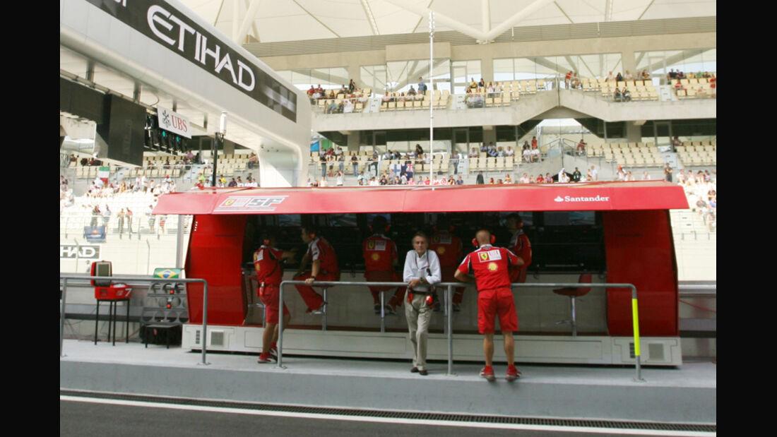 Ferrari Kommandostand