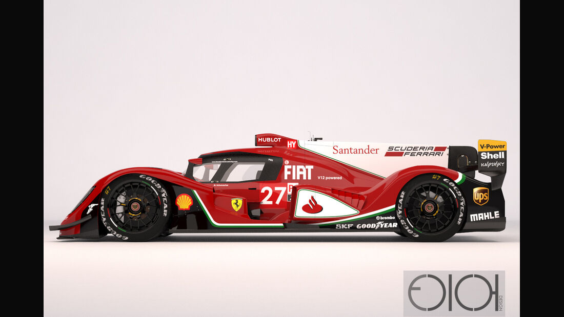 Ferrari LMP1 Concept - Oriol Folch Garcia