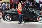 Ferrari LaFerrari Aperta Sitzprobe