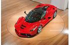Ferrari LaFerrari, Draufsicht