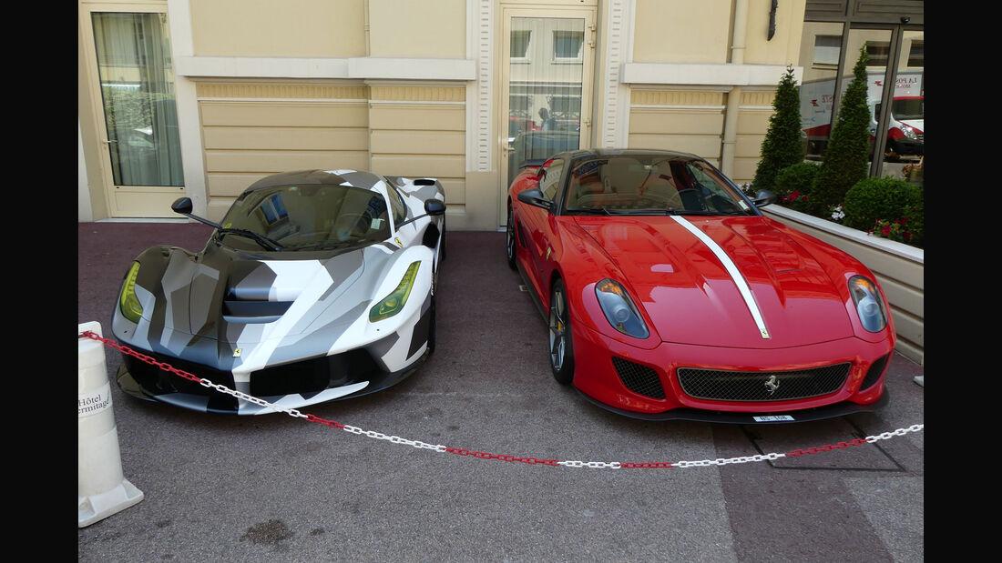 Ferrari LaFerrari - Ferrari 599 GTO - Carspotting - GP Monaco 2018