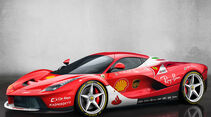 Ferrari LaFerrari - Ferrari SF70H - Lackierung