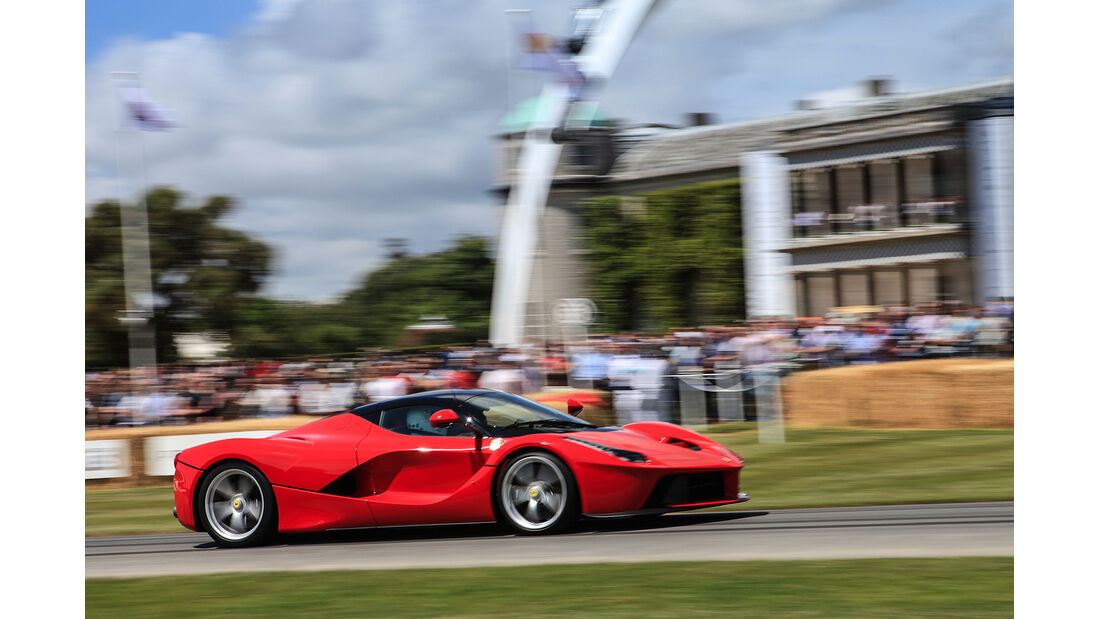 Ferrari LaFerrari, Goodwood Festival of Speed 2014
