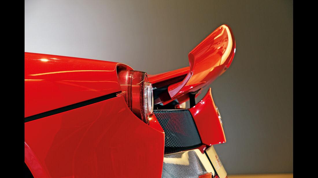Ferrari LaFerrari, Heckflügel, Heckspoiler