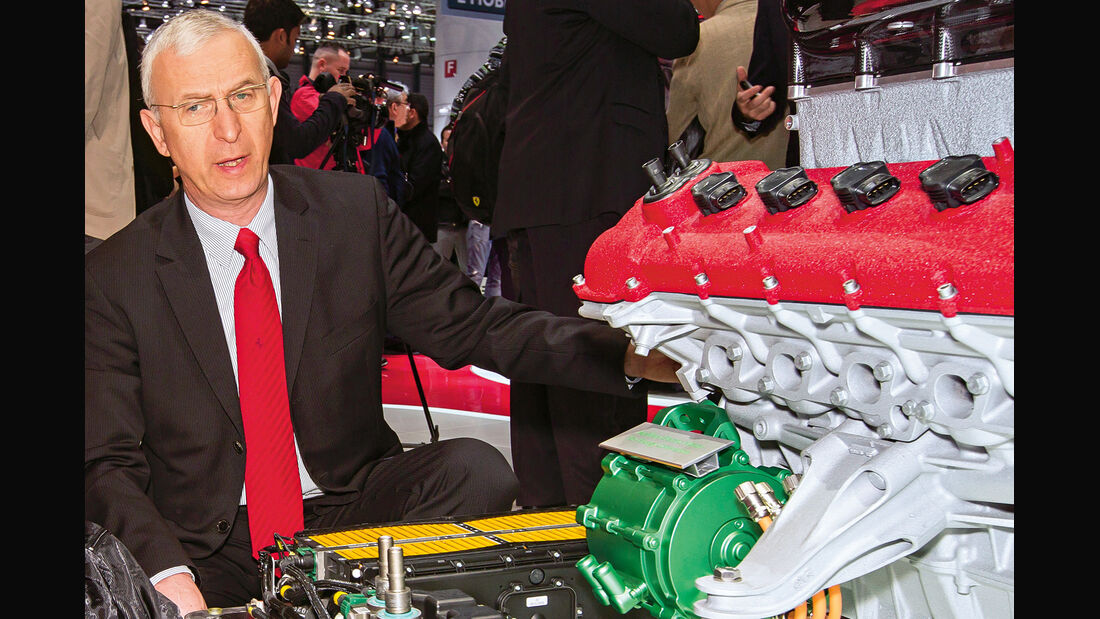 Ferrari LaFerrari, Hybridmodul