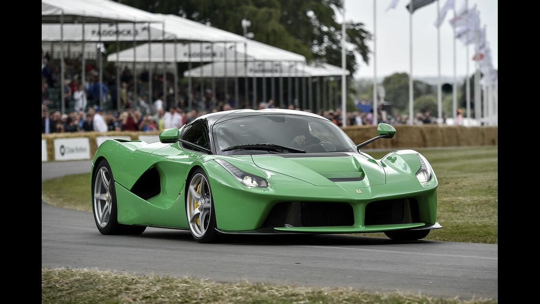 Ferrari LaFerrari, Jay Kay, Goodwood Festival of Speed 2014