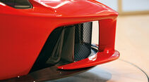 Ferrari LaFerrari, Kühlluftkanäle, Schnauze