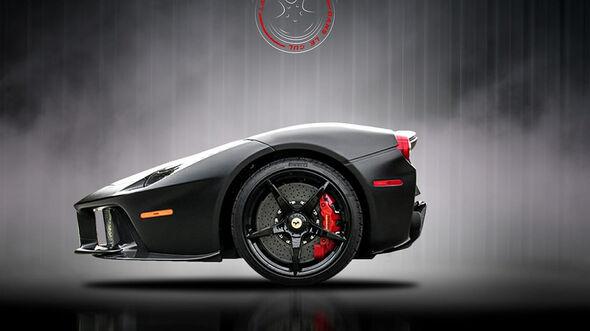 Ferrari LaFerrari Retusche
