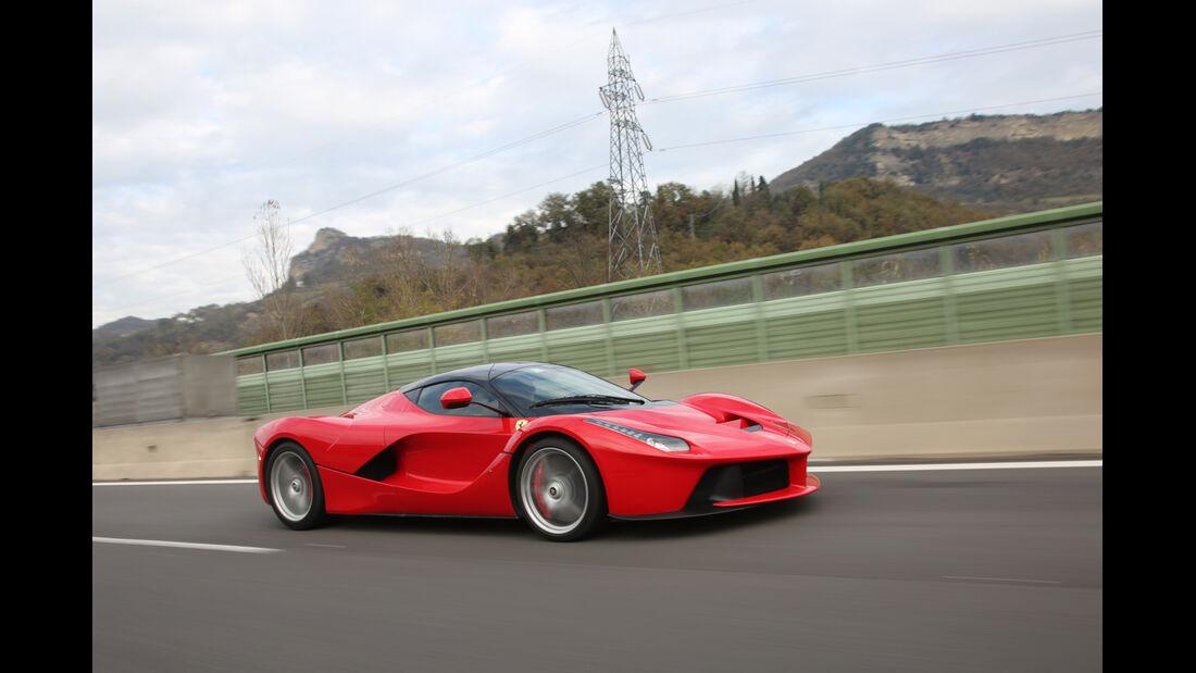 Ferrari LaFerrari, Seitenansicht
