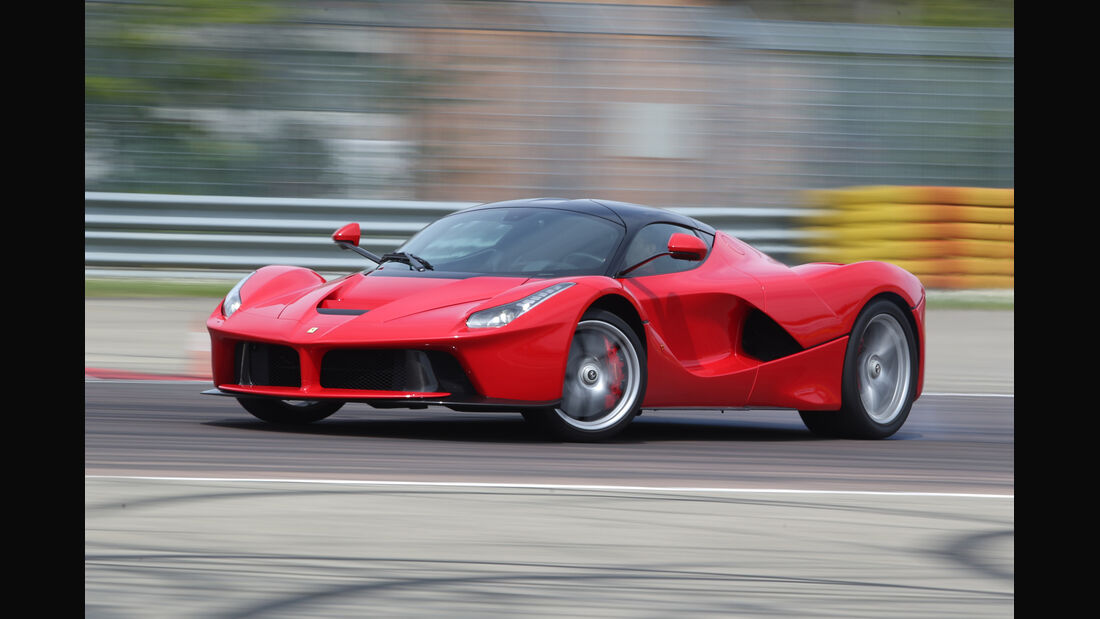 Ferrari LaFerrari, Seitenansicht, Drift