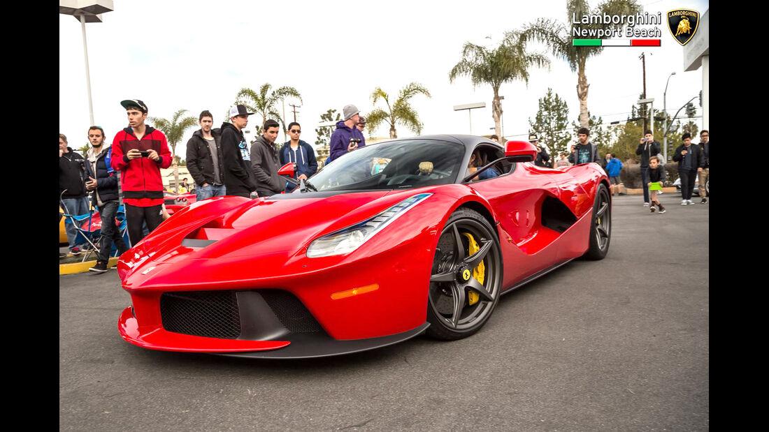 Ferrari LaFerrari - Supercar Show - Lamborghini Newport Beach