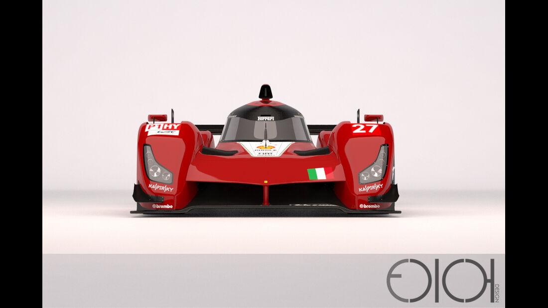 Ferrari Le Mans LMP1 Concept - Oriol Folch Garcia - 2014