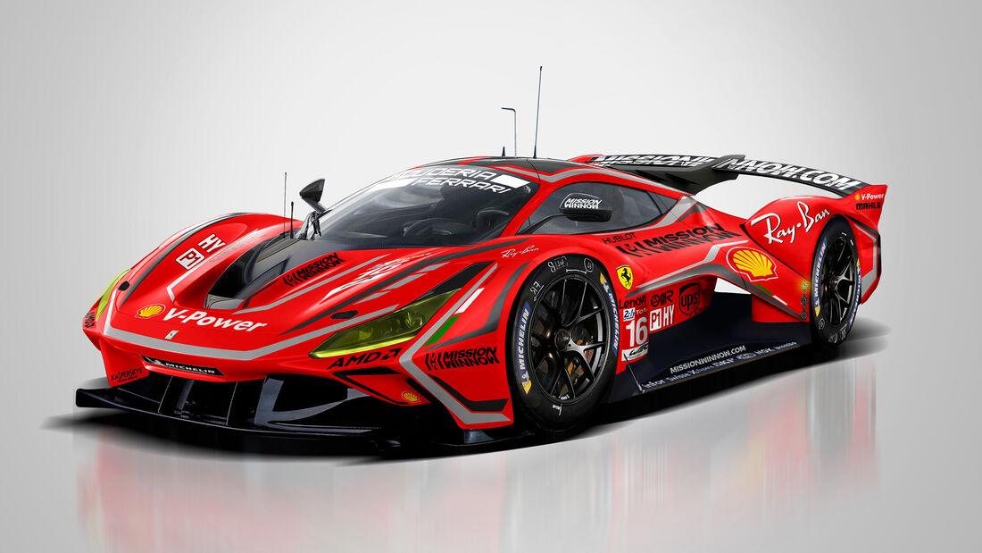 Ferrari - Le Mans - Protoyp - Concept - Hypercar / LMDh - Sean Bull