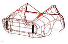 Ferrari - Leggenda e passione - 250 GTO Rear Bodywork Form
