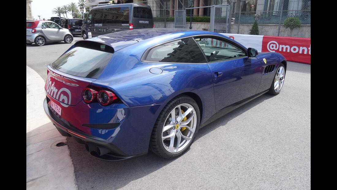 Ferrari Lusso GTC - Carspotting - GP Monaco 2017