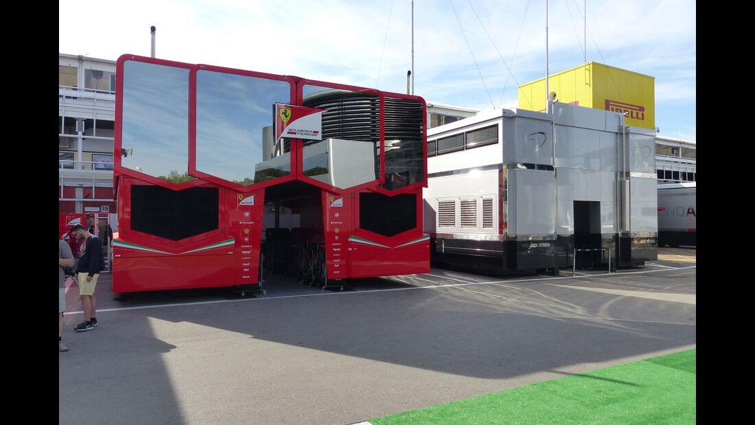Ferrari - McLaren-Honda - GP Spanien 2015 - Barcelona