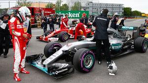 Ferrari & Mercedes - GP Kanada 2016