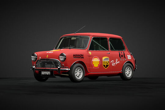 Ferrari - Mini in F1-Designs - 2019