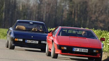 Ferrari Mondial Quattrovalvole und Lotus Turbo Esprit HC