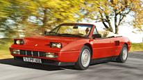 Ferrari Mondial, Seitenansicht