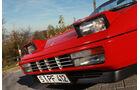 Ferrari Mondial T, Cabriolet 1992, Frontlichter, Detail