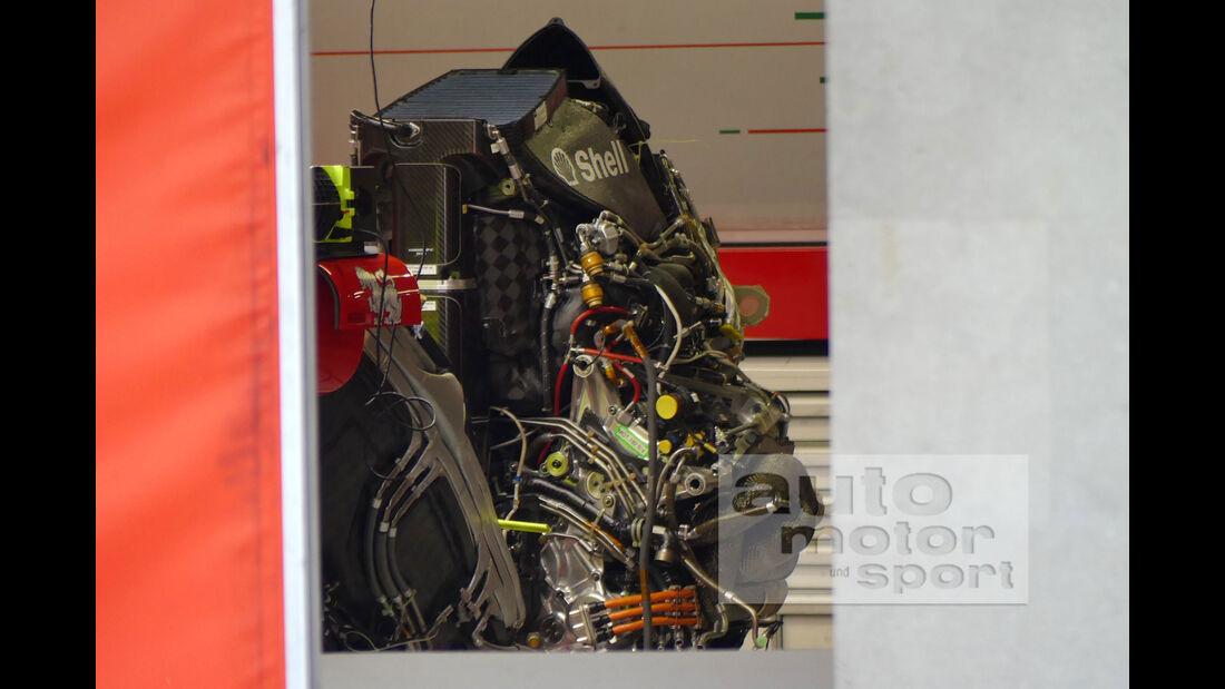 Ferrari - Motor - V6-Turbo - F1 2018