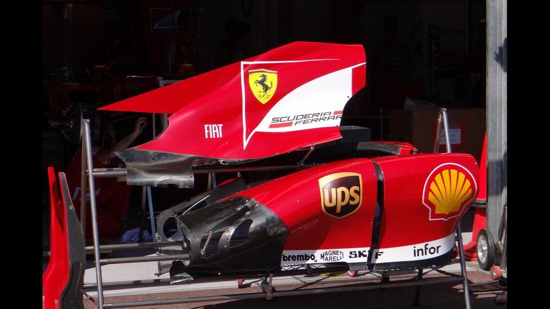 Ferrari Motorabdeckung - Formel 1 - GP Monaco - 22. Mai 2013
