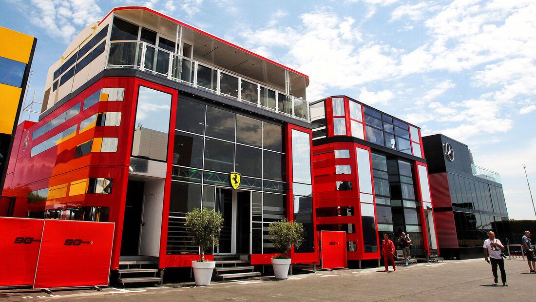 Ferrari Motorhome - Formel 1 - 2019