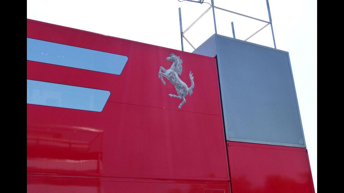 Ferrari - Motorhome - GP Spanien 2015 - Barcelona