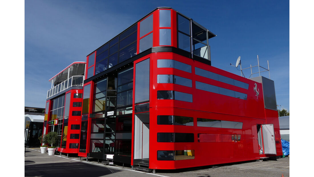 Ferrari - Motorhomes - Formel 1 - GP Spanien 2019