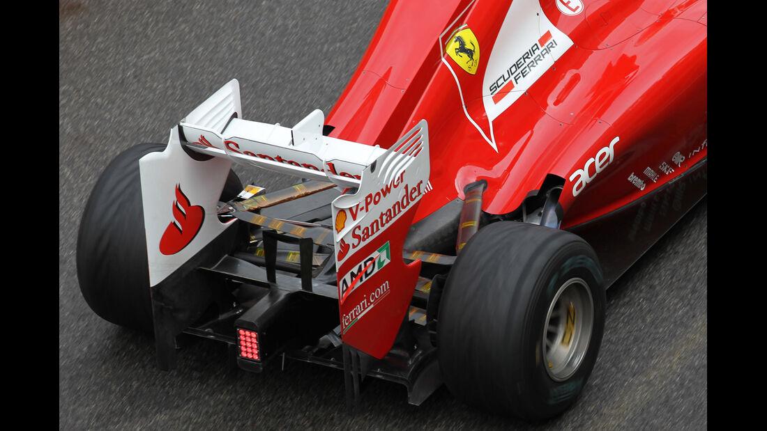 Ferrari Mugello 2012 Formel 1 Technik