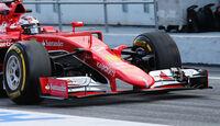 Ferrari - Nasen-Kamera - Barcelona Test 2015