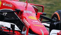 Ferrari - Nasenkamera - Barcelona-Test 2015