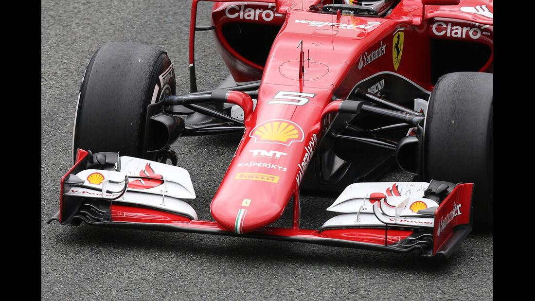 Ferrari - Nasenkamera - Jerez - 2015