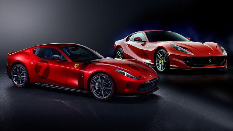 Umdekorierter 812 Superfast Der Ferrari Omologata Ist Ein Unikat Auto Motor Und Sport